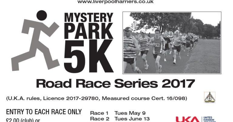 Mystery 5K – Race 1 Results